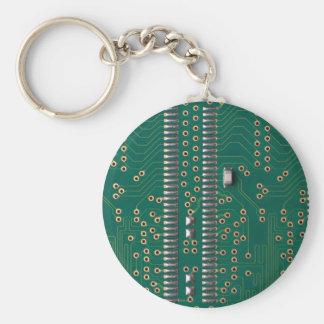 Chip de memoria llavero redondo tipo pin