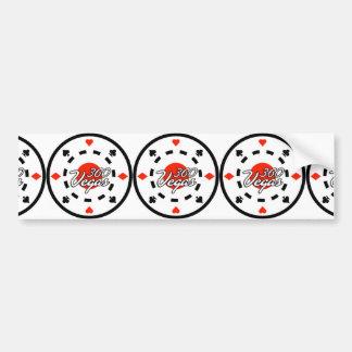 Chip Logo Bumper Sticker