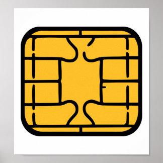 Chip Microchip Poster