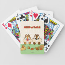 Chip 'n' Dale Bicycle Playing Cards