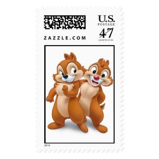 Chip 'n' Dale Disney Postage