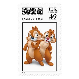 Chip 'n' Dale Disney Stamp