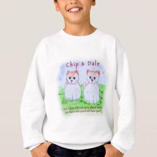 Chip n Dale - Flame Siamese Sweatshirt
