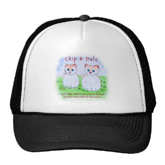 Chip n Dale - Flame Siamese Trucker Hat