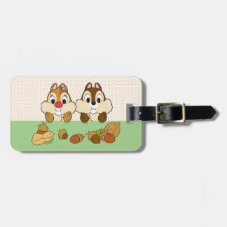 Chip 'n' Dale Travel Bag Tag