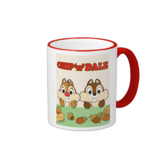 Chip 'n' Dale Ringer Coffee Mug
