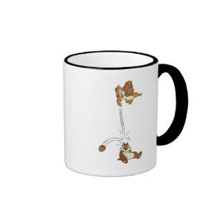 Chip 'n' Dale Nut Fight Disney Ringer Coffee Mug