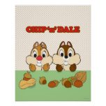 Chip 'n' Dale Poster
