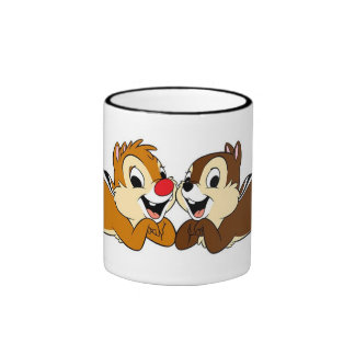 Chip 'n' Dale Rescue Rangers Disney Ringer Coffee Mug