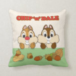Chip 'n' Dale Throw Pillow