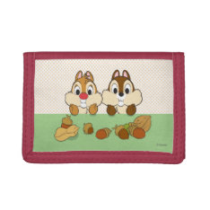 Chip 'n' Dale Trifold Wallet at Zazzle