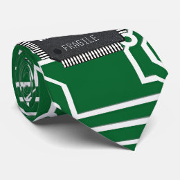 Chip On Printed Circuit Board With Your Name Neck Tie