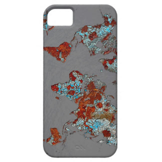Chip Paint and Rust Map iPhone SE/5/5s Case
