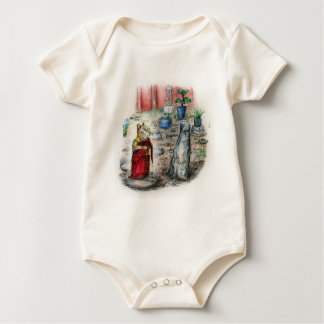 CHIP THE MONK BABY BODYSUIT