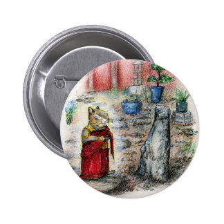 CHIP THE MONK BUTTON