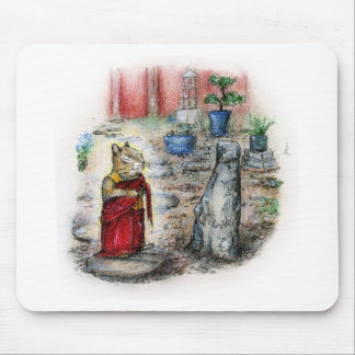 CHIP THE MONK MOUSE PAD