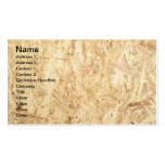 Chipboard surface business card template