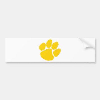 chipley pee wee football car bumper sticker