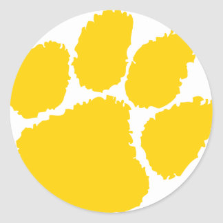 chipley pee wee football classic round sticker