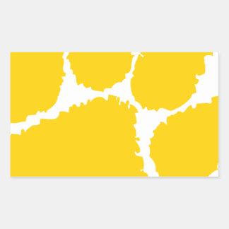 chipley pee wee football rectangular sticker