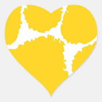 chipley pee wee football heart sticker