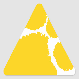 chipley pee wee football triangle sticker