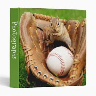 Chipmunk 1 del aficionado al béisbol álbum de fot