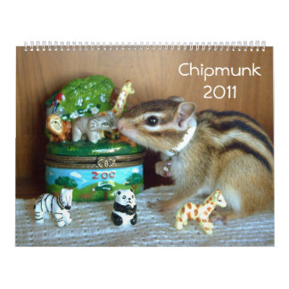 chipmunk (All country) Calendar