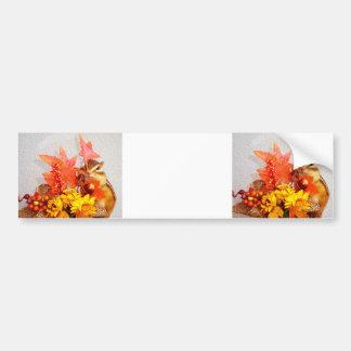 Chipmunk and Autumn (3) photo Bumper Sticker