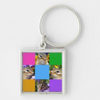 Chipmunk and photo (32) keychain