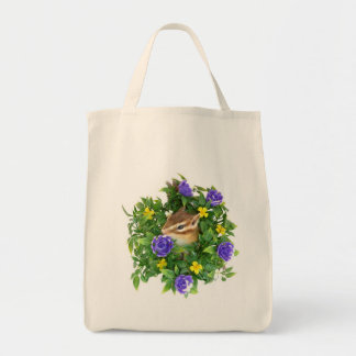 Chipmunk and photo (4) type-3 tote bag