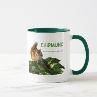 Chipmunk and The small butler of the forest Mug