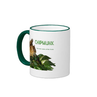 Chipmunk and The small butler of the forest Coffee Mug
