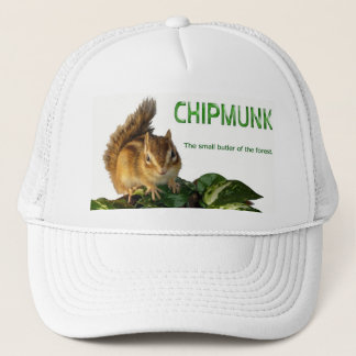 Chipmunk and The small butler of the forest Trucker Hat