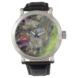 Chipmunk Animals Wildlife Photography Wrist Watch