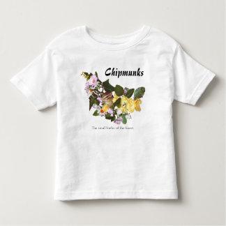 chipmunk, ardilla, foto (7-16) camisas