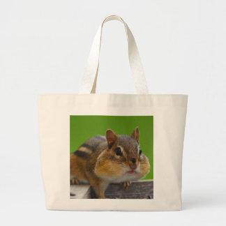 Chipmunk Jumbo Tote Bag
