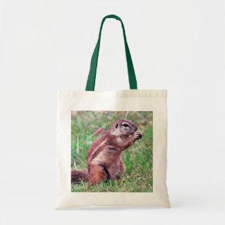 Chipmunk Budget Tote Bag