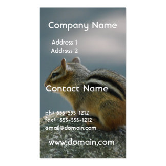 Chipmunk Business Card