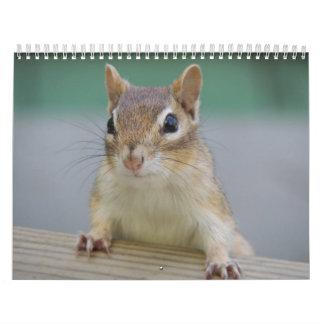 Chipmunk Calendar