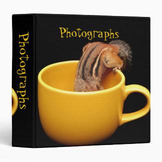 Chipmunk cariñoso 1 5 del café lindo álbum de fot