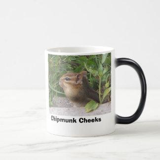 Chipmunk Cheeks Magic Mug