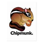 Chipmunk. Chipmunk Tarjetas Postales