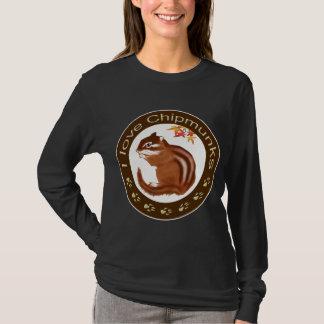 Chipmunk_ Circle_12 T-Shirt