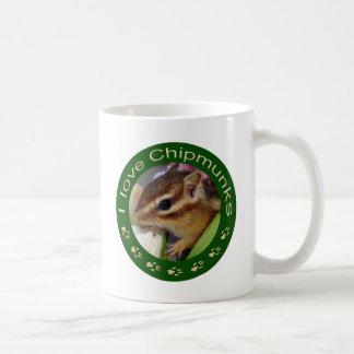 Chipmunk_ Circle_3 Coffee Mug