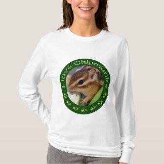 Chipmunk_ Circle_3 T-Shirt