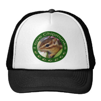 Chipmunk_ Circle_3 Trucker Hat