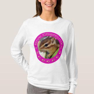 Chipmunk_ Circle_4 T-Shirt