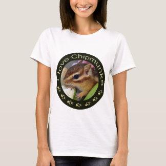 Chipmunk_ Circle_55 T-Shirt