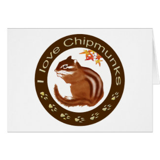 Chipmunk_Circle Card